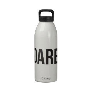 Dare - Bracketed - Black and White Drinking Bottles