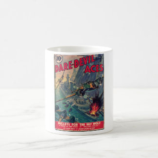 Dare Devil Aces 1941 Pulp Magazine Cover Coffee Mug
