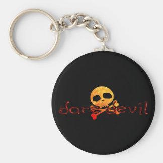 Dare Devil Basic Round Button Keychain