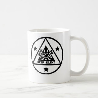 Dare. Do. Keep Silent! The Sorceror's Code! Coffee Mug