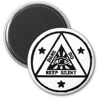Dare. Do. Keep Silent! The Sorceror's Code! Magnet
