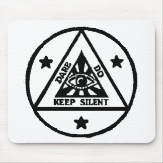 Dare. Do. Keep Silent! The Sorceror's Code! Mouse Pad