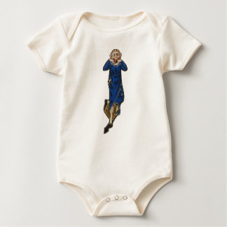 Dare grimace (medieval) baby bodysuit