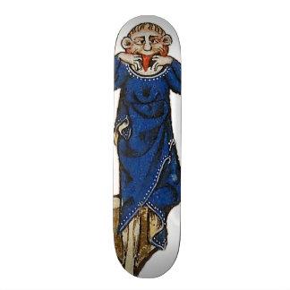 Dare grimace (medieval) skateboard