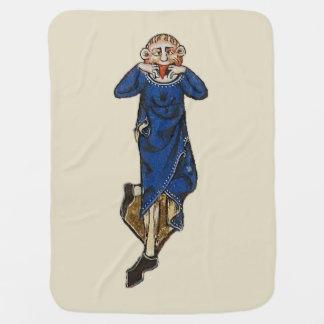 Dare grimace (medieval) swaddle blanket