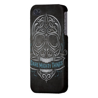 Dare Mighty Things iPhone 4 Glossy Finish Case