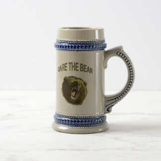Dare the Bear 18 Oz Beer Stein