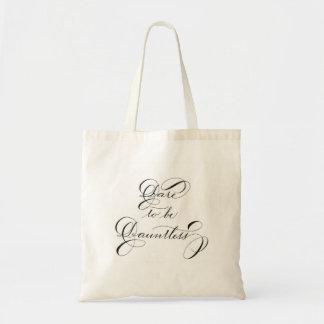 Dare to be Dauntless Budget Tote Bag