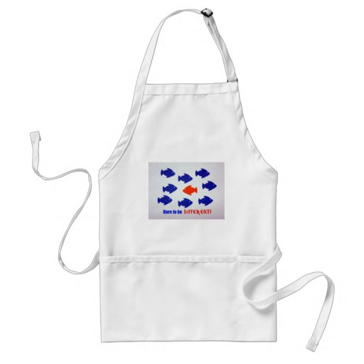 Dare to be different! adult apron