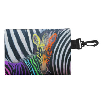 dare to be different Baby Zebra Design by GG Burns Accessory Bag