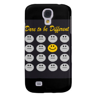 dare to be different black iphone 3 case