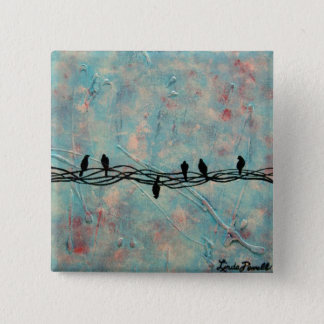 """""""Dare to be Different"""" by Linda Powell~Pin Button"""