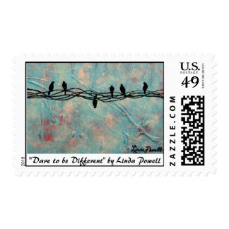 """Dare to be Different"" by Linda Powell~Postage"