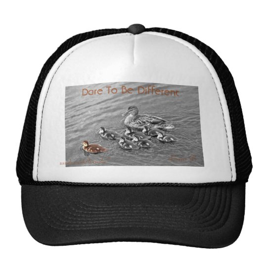 Dare to be different cap