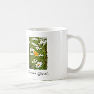 Dare To Be Different Classic White Coffee Mug