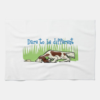 DARE TO BE DIFFERENT HAND TOWELS
