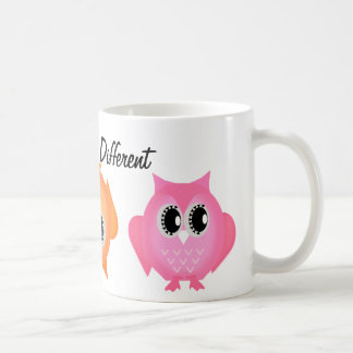 Dare to be Different Hoot Owls Mug