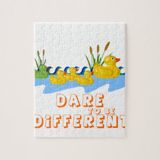 DARE TO BE DIFFERENT JIGSAW PUZZLE