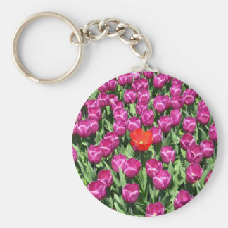 Dare to be different keychain