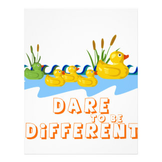 DARE TO BE DIFFERENT LETTERHEAD