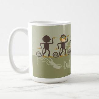 Dare to be different, monkeys, safari coffee mug