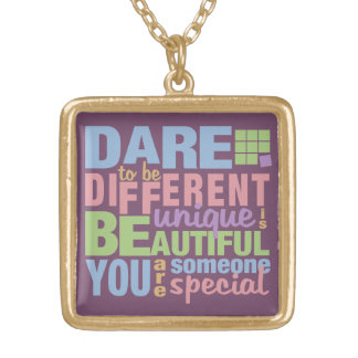 Dare To Be Different necklace