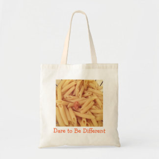 Dare to Be Different, Pasta tote bag