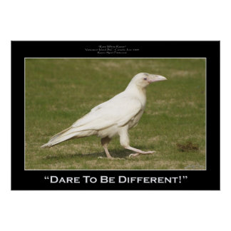 """""""DARE TO BE DIFFERENT"""" Photo Prints & Posters"""