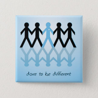 Dare to be Different Pinback Button