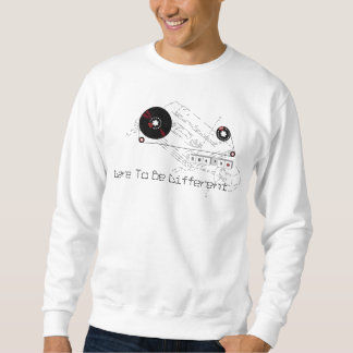 Dare To Be Different  Pullover Sweatshirt