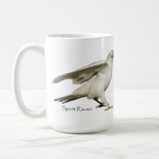 DARE TO BE DIFFERENT! Rare White Raven Photo Mug