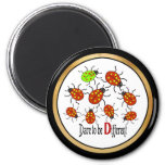 Dare to be Different Refrigerator Magnet
