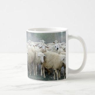 Dare to be different! Sheepdog Saying ... Coffee Mug