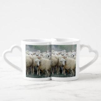 Dare to be different! Sheepdog Saying ... Coffee Mug Set
