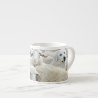 Dare to be different! Sheepdog Saying ... Espresso Cup