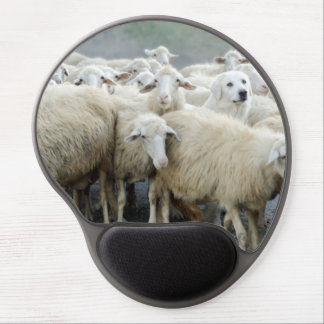 Dare to be different! Sheepdog Saying ... Gel Mouse Pad