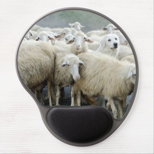 Dare to be different! Sheepdog Saying ... Gel Mouse Mat