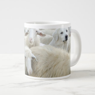 Dare to be different! Sheepdog Saying ... Giant Coffee Mug