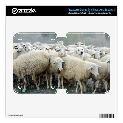 Dare to be different! Sheepdog Saying ... WD My Passport Skin