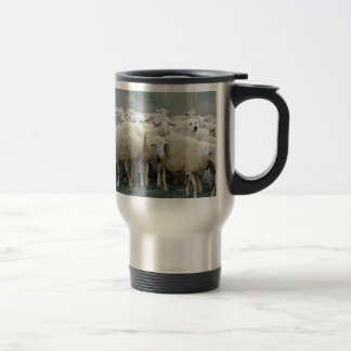 Dare to be different! Sheepdog Saying ... Travel Mug