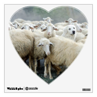 Dare to be different! Sheepdog Saying ... Wall Sticker