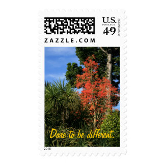 Dare to be Different - Show off your true colors Postage