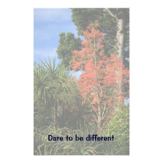 Dare to be Different - Show off your true colors Stationery