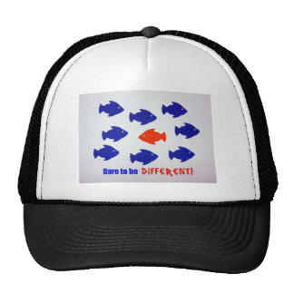 Dare to be different! trucker hat