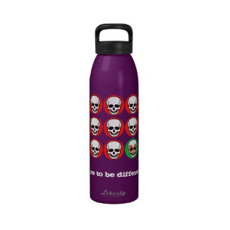 Dare to be different! water bottles