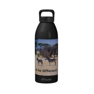 Dare to be different! drinking bottle