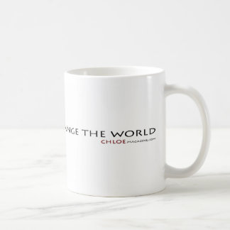 Dare to Change the World coffee cup