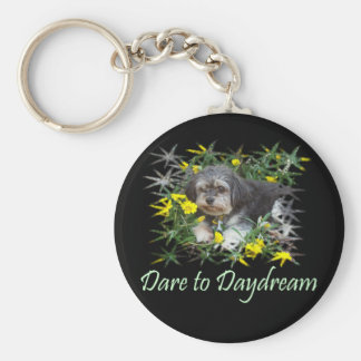 Dare to Daydream, Inspirational T-Shirts & Gifts! Keychain