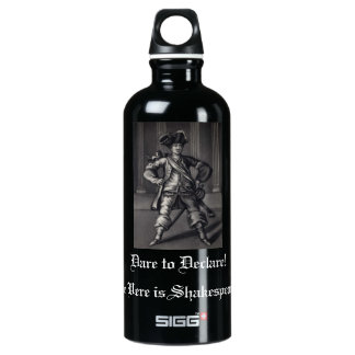 Dare to Declare Henry V Aluminum Water Bottle