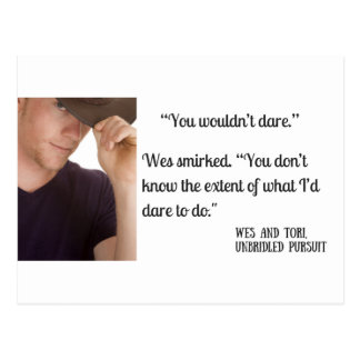 Dare to Do (Unbridled Pursuit) Teaser Postcard